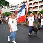 Fête de l'Autonomie : le Club Canin de Pirae a défilé avec ses chiens.